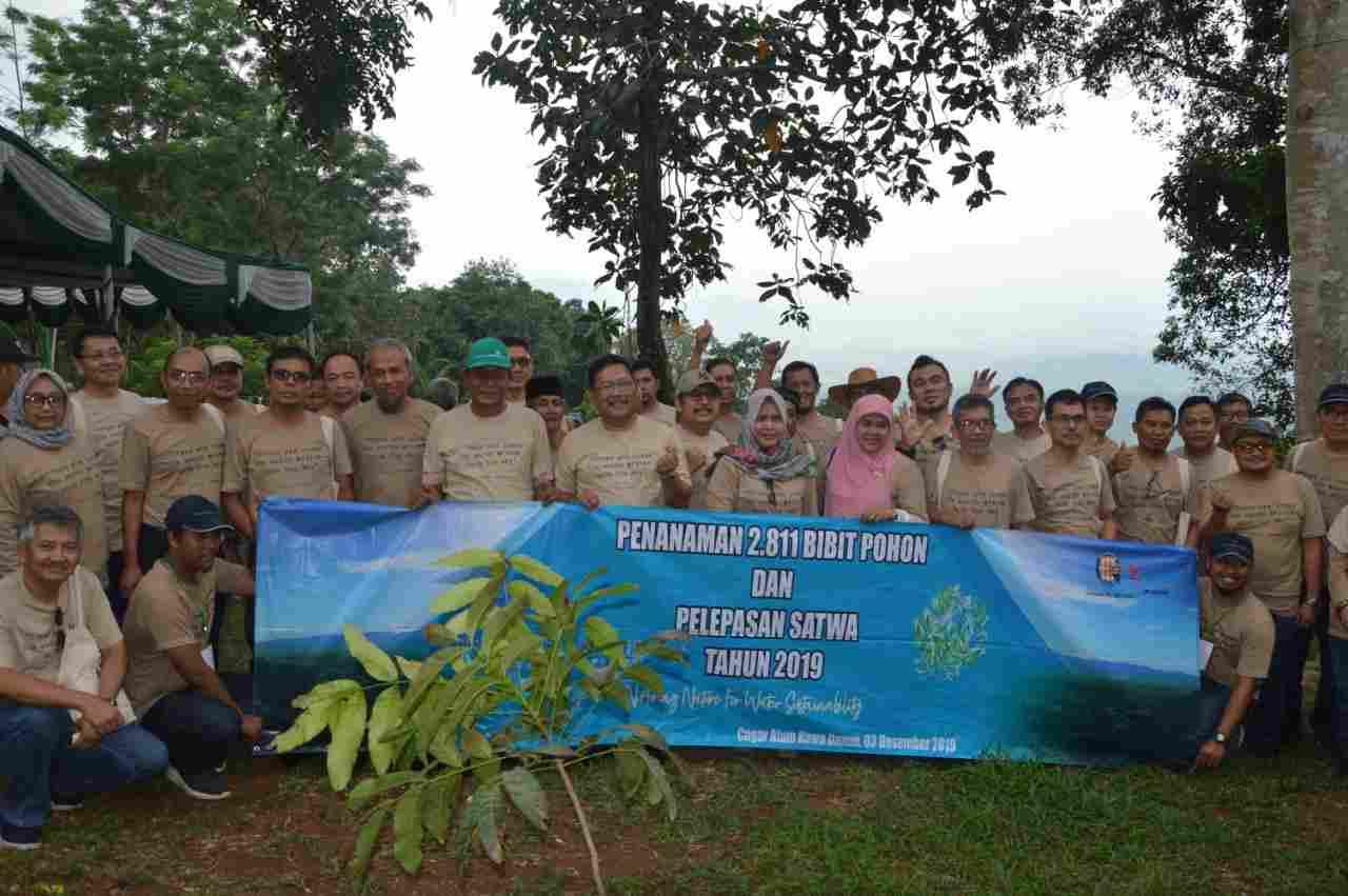 PT KTI Bersama Stakeholder Lakukan Penanaman Pohon dan Pelepasan Satwa