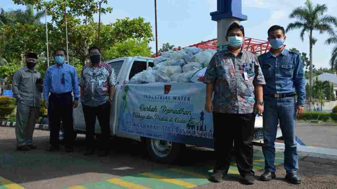 PT KTI Tunaikan Bantuan kepada Kaum Dhuafa